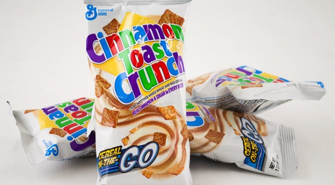 General Mills - Reduced Sugar Cinnamon Toast Crunch Pouch